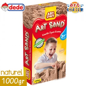 Kinetik Kum Art Craft 1000gr Naturel Kutulu